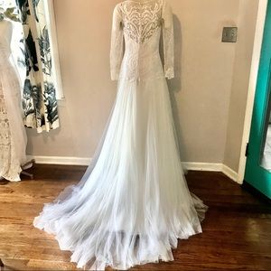 DREAMY Mesh & Lace Gown